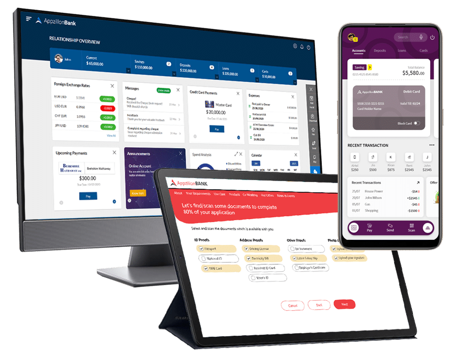 Appzillon Digital Banking